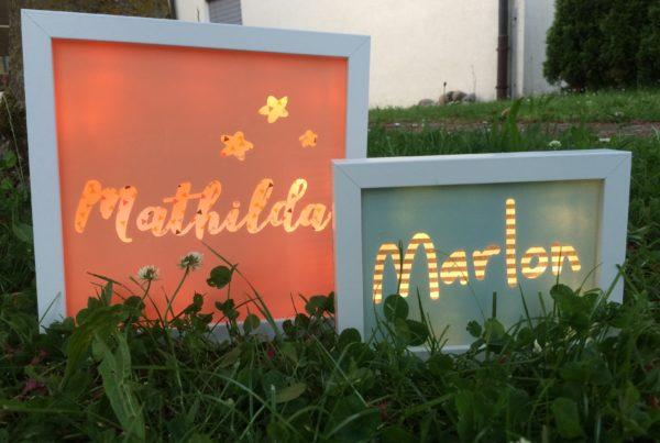 Leuchtkasten, Mathilda, Marlon, ©Grossstadtindianer, Sabrina Blaser